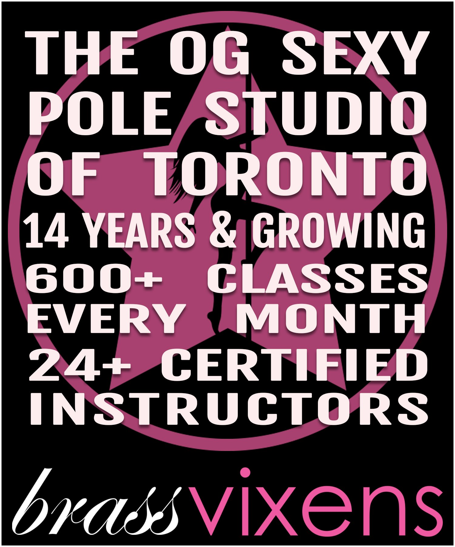 Brass Vixens Pole Dance Classes Toronto
